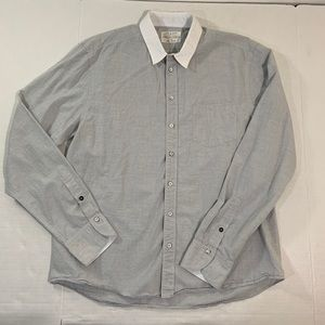 Men's Rag And Bone Button Front Shirt XL